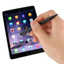 Double Tip Stylus Pen Resistive Capacitive Touch Screen Precision Touch (Black) sanh 3 universal mini 3 in 1 stylus ballpoint pen for capacitive resistive touch screen black