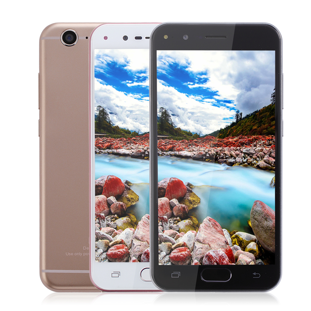 M-HORSE C9Pro Fingerprint Unlock 5.5 Inch 1280*720 HD Display 1G RAM 8G ROM Quad Core Smart Phone For Android 6.0