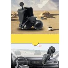 เพชรแผ่นใช้งานร่วมกับ1นิ้วลูกยางรถInterphoneไมโครโฟนHookสำหรับรถInterphone T