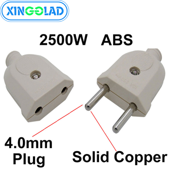 5m 1 pcs european 2pin male plug to angled iec320 c7 female socket power cable eu power adapter cord 2 Pin EU Schuko Plug Male Female Electronic Connector Socket Wiring Power Extension Cord Plug Adapter Detachable Rewireable