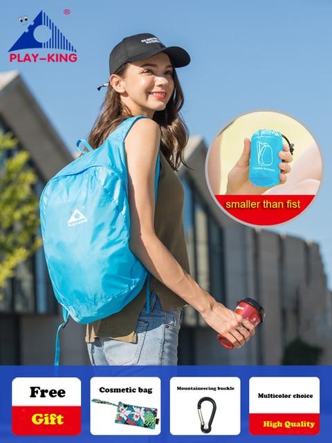 Lightweight nylon foldable backpack waterproof