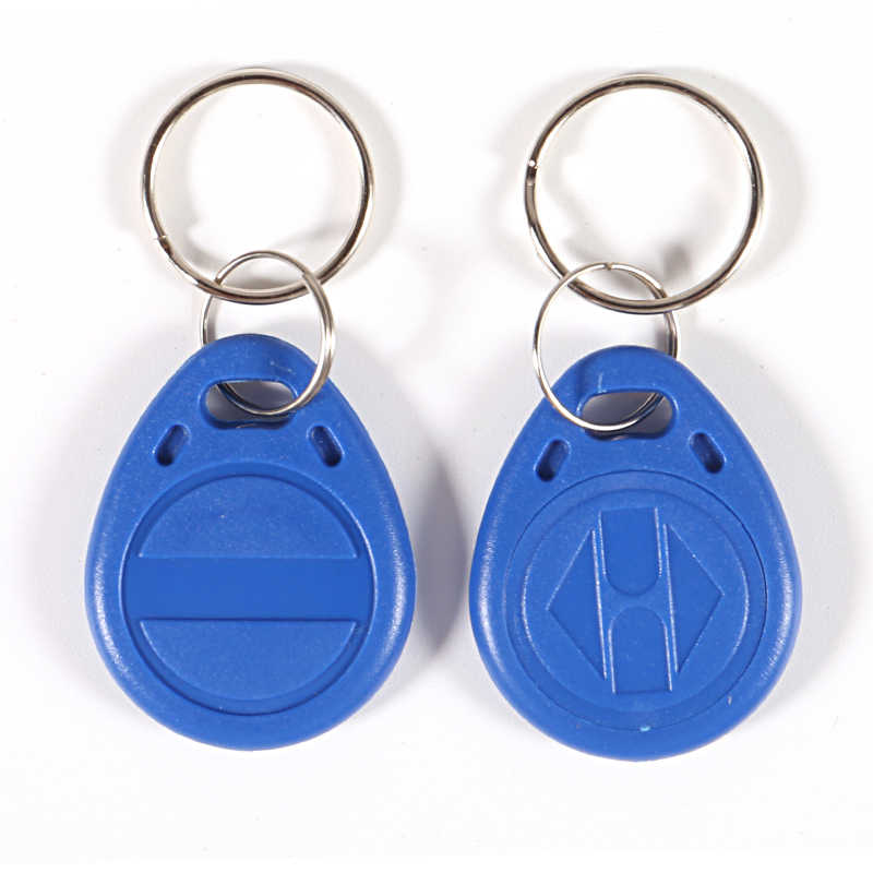 50Pcs 125KHz RFID Key FOB ID บัตรโทเค็นคีย์การ์ดสำหรับระบบควบคุมประตูเข้า security LOCK