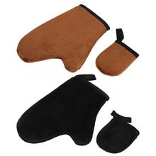 Reusable Body Soft Self Tanning Glove Tanner Mitt Lotion Apply Tool Accessory Body Cleaning Beach Glove Self Tanner High Quality cheap Approx 20 5*16 5cm 8 1*6 5in PE Sponge Flocking Beach Gloves Random color