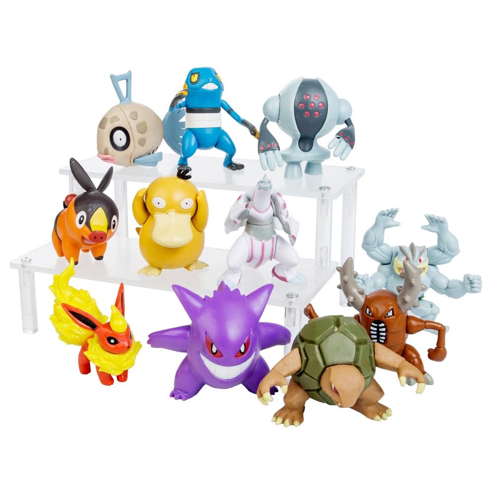 Новинка Покемон Пикачу 5-8 см Коллекционная экшн-фигурка карманный монстр игрушка покее цельная модель аниме игрушка для детей подарок на де...