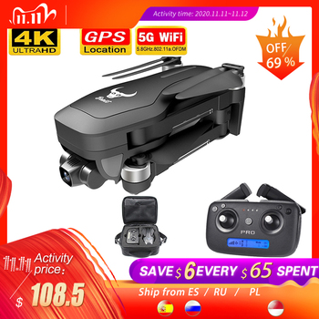 2020 NEW SG906 pro2 drone 4k HD mechanical gimbal camera 5G wifi gps system supports TF card drones distance 1.2km flight 25 min