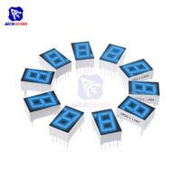5 unids/lote 0,56 pulgadas 7 segmento azul pantalla Digital LED ánodo común tubo Digital LED rojo para electrodomésticos accesorios de coche