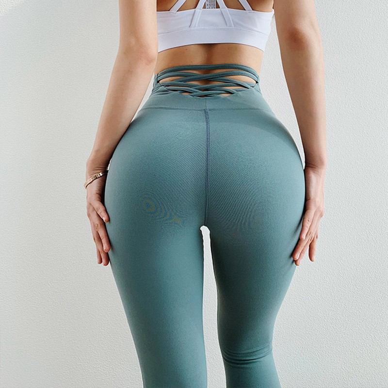 Sexy Tight High Waisted Yoga Pants Scrunch Butt Workout Legging Sports Women Fitness Gym Leggings Running Tights Activewear Yoga Pants Aliexpress