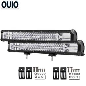 648W 22inch LED Work Light Bar