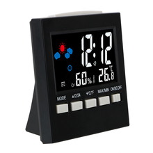 Calendar Clock Digital Display Home-Decoration LCD Forecast Multifunction