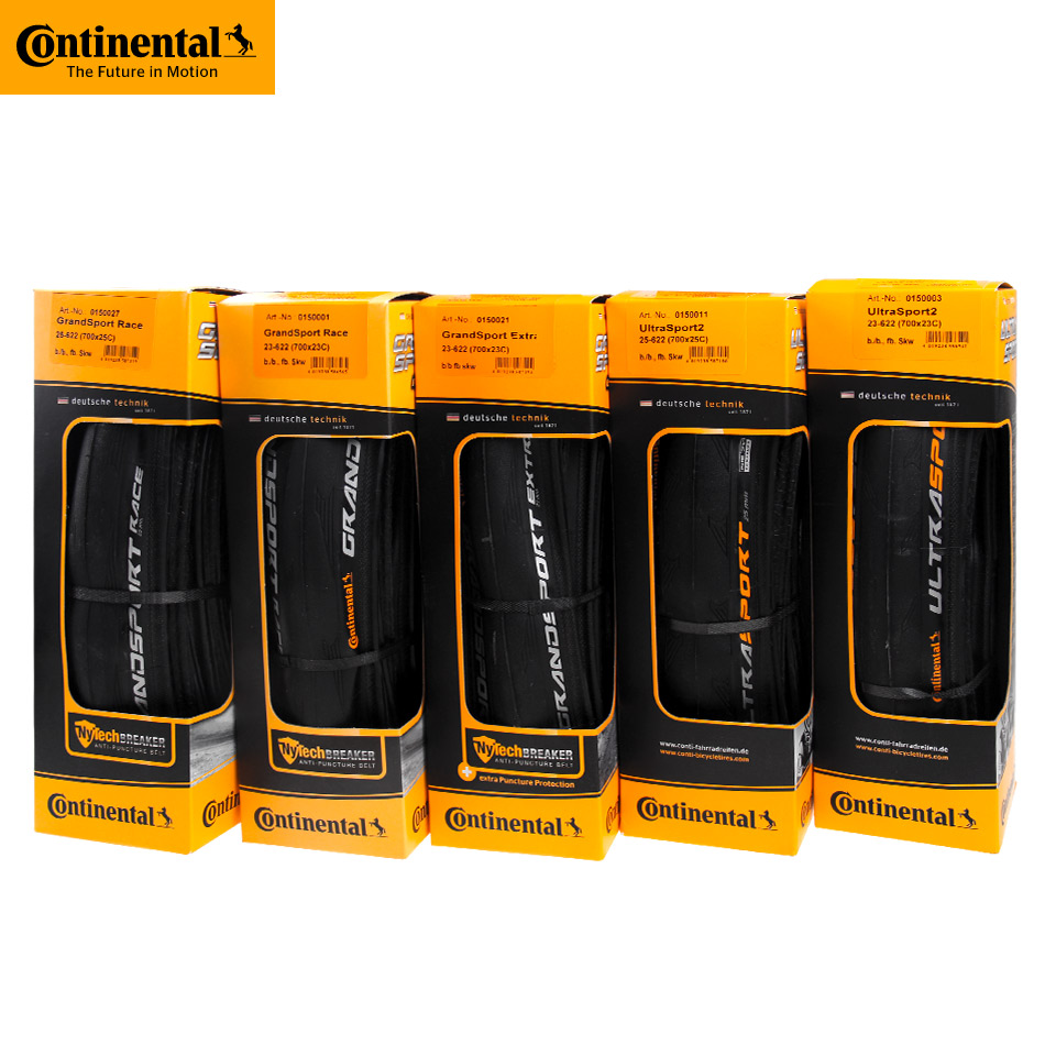 Continental Tire GrandSport Race & GrandSport Extra & UltraSport II Road Bike Tire 700x23C 700x25C Foldable Tire Bicycle Parts