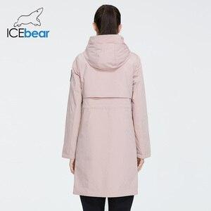 Image 4 - جديد لعام 2020 من ICEbear معطف طويل للنساء جاكيت عالي الجودة للنساء ملابس غير رسمية للنساء ماركة ملابس نسائية GWC20727I