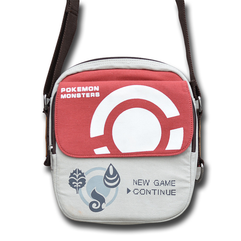Hot New Pokémon Shoulder Bag Pokemon Series Pokemon Messenger Bag Pokémon Elf Ball Shoulder Messenger Bag