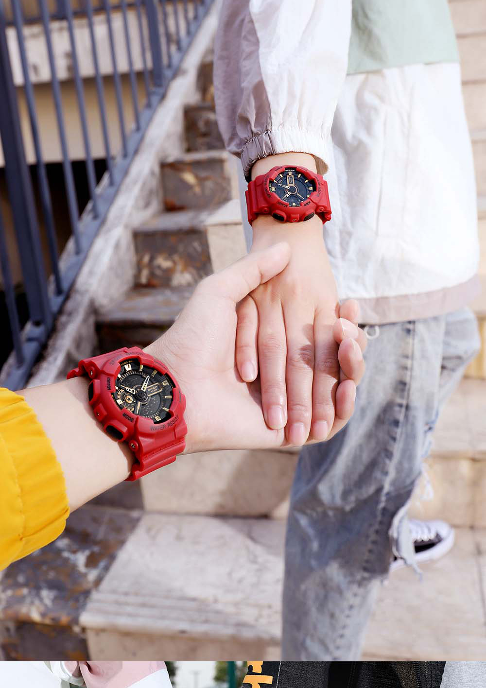 H825a889497f8439fb378486045de5fadz 2020 SANDA Military Men's Watch Brand Luxury Waterproof Sport Wristwatch Fashion Quartz Clock Couple Watch relogio masculino