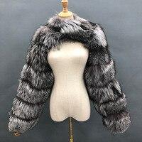 Moda zima wysokiej jakości krótkie płaszcz ze sztucznego futra kobiet 2021 w stylu Vintage z długim rękawem ciepłe norek kurtki Slim fit futrzany płaszcz Femme Top