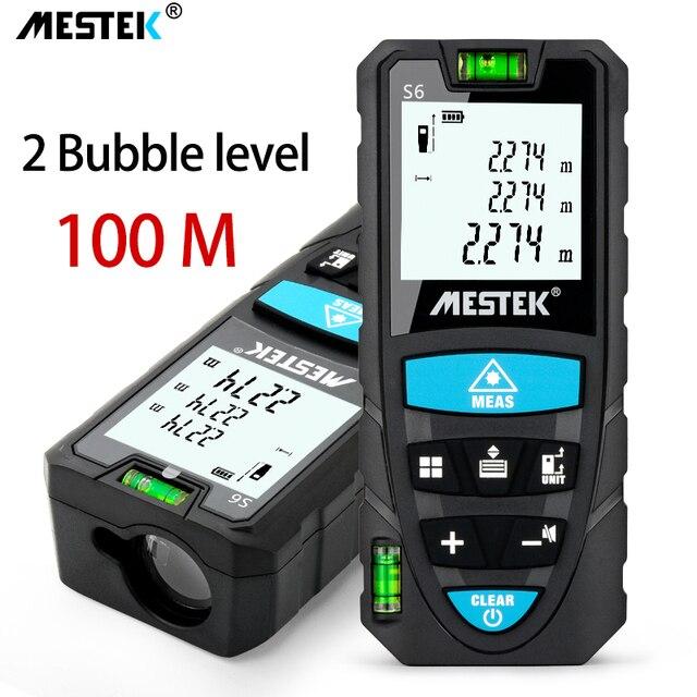 MESTEK Laser Distance Meter 50/70/100m Laser Meter Trena a Laser Range Finder Metro Laser Build Measure Device Ruler Test Tool