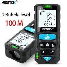 Medidor de distância a laser mestek 50/70/100m medidor a laser trena um laser range finder metro laser construir medida dispositivo régua ferramenta de teste
