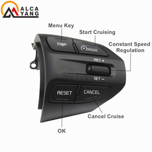 Image 3 - Fast delivery ! For Kia Rio (K2 ) 2016 2017 2018 2019 cruise control buttons switch steering wheel buttons .