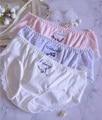 2. Бесплатная доставка; M L XL; Милые милые детские трусики из хлопка с кружевами в стиле Лолиты; Нижнее белье