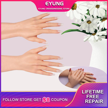 Simulation Male Silicone Prosthesis Gloves Fake Hands Cover False Artificial Skin Sleeve Arm Beauty Shield