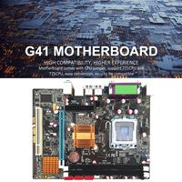 capacitor computer motherboard Desktop Computer Motherboard With All Solid Capacitor SATA2.0 RJ45 LPT VGA Audio 771 775 CPU Dual DDR3 1066/1333MHz Motherboard (1)