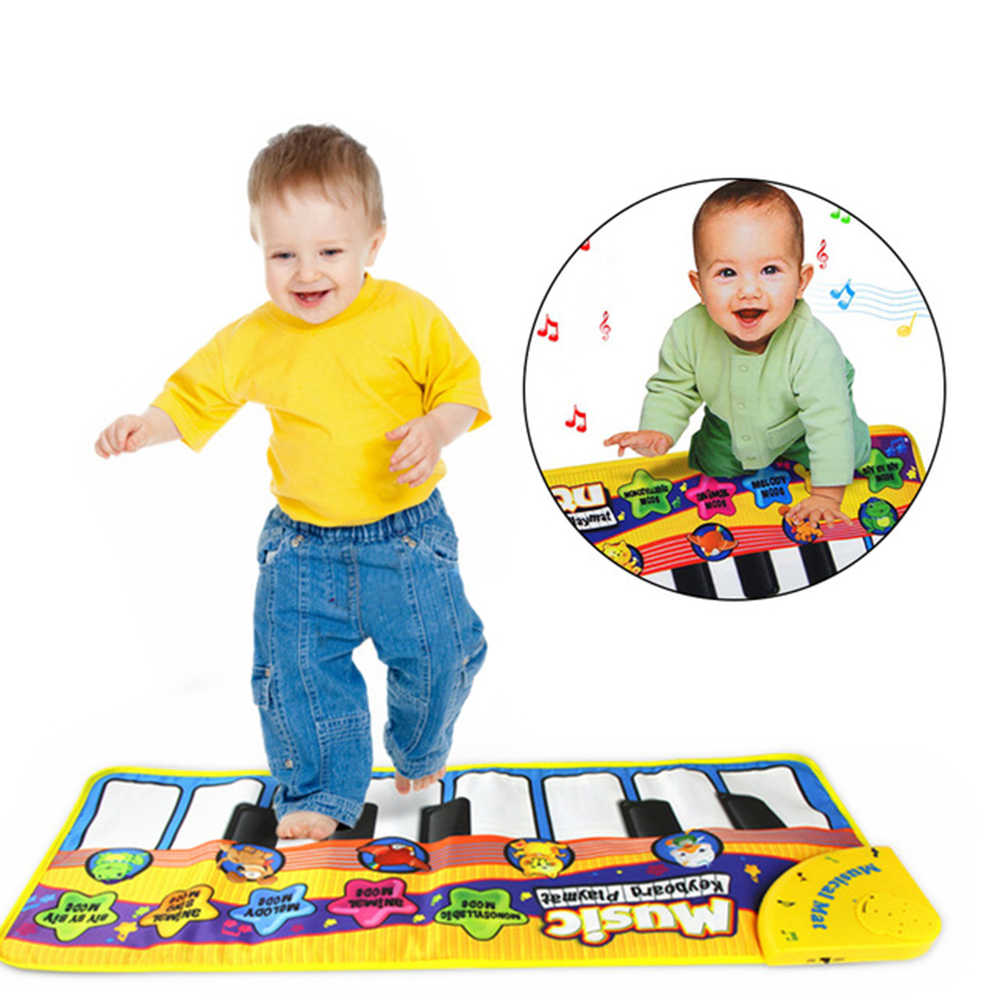 Baby Play mat  Baby Musical Carpet Keyboard Music Play Mat Piano Early Learning Educational Toys for Children Kids Puzzle Gifts