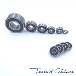 20Pcs 6000-2RS 6000RS 6000rs 6000 rs Deep Groove Ball Bearings 10 x 26 x 8mm Free shipping High Quality
