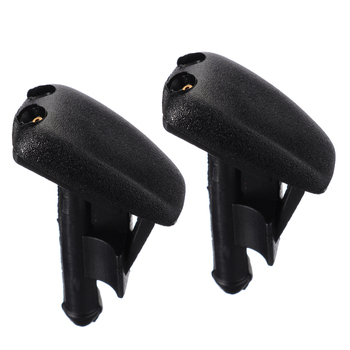 2pcs High Quality Water Spout Front Windscreen Washer Jet Spray Nozzle For BMW 3 Series M3 Coupe E36 Z3 318i 323is 328i/328is image
