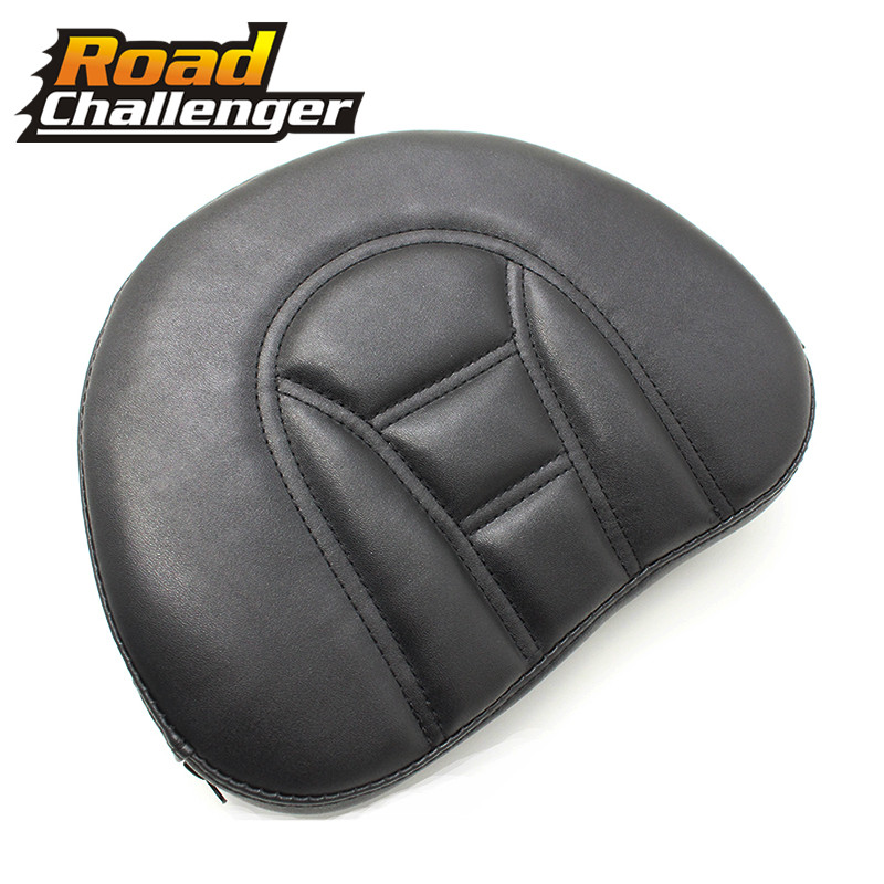 Motorcycle Front Driver Rider Sissy Bar Seat Backrest Pad For Touring Road Gilde Motorcycle Accessories Covers