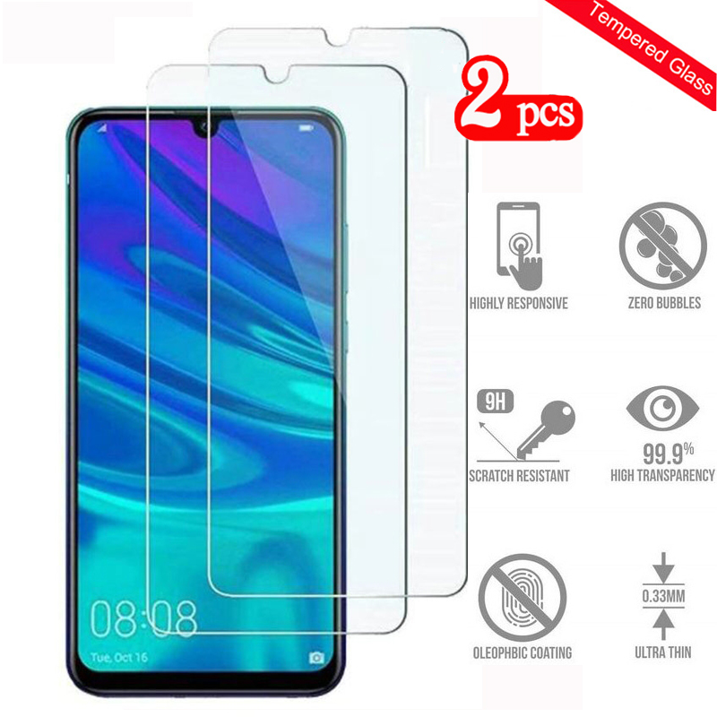 2PCS Tempered Glass For Huawei P Smart 2019 Screen Protector Hauwei P Smart2019 Glas PSmart2019 Protective Glass Toughened Film