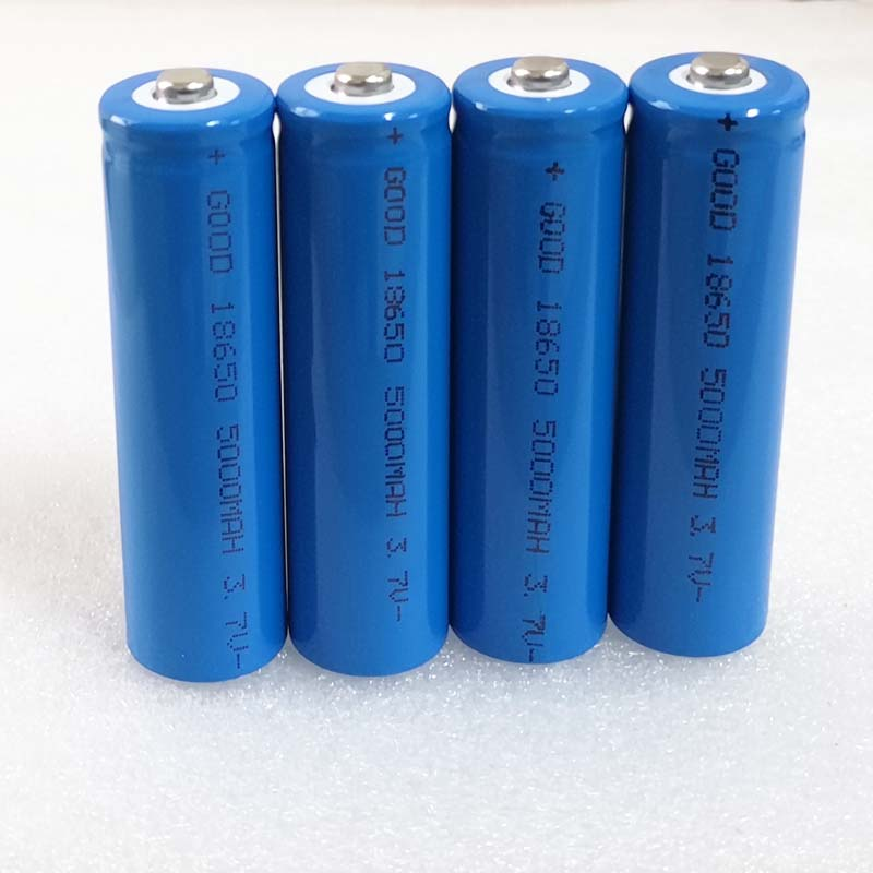 4PCS <font><b>5000mah</b></font> 3.7V 18650 Rechargeable Li-ion Battery Lithium ion cell for phone powerbank <font><b>speaker</b></font> flashlight torch image
