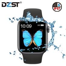DZLST T500 Smart Watch IWO13 Series 5 Beehive SmartWatch Blu