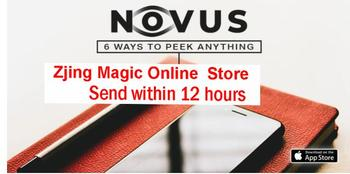 Aplikacja Novus od Teguh-magiczne sztuczki tanie i dobre opinie TR (pochodzenie) Unisex Jeden rozmiar online files Nauka ŁATWE DO WYKONANIA Beginner Profesjonalne Dla magików ulica Etap