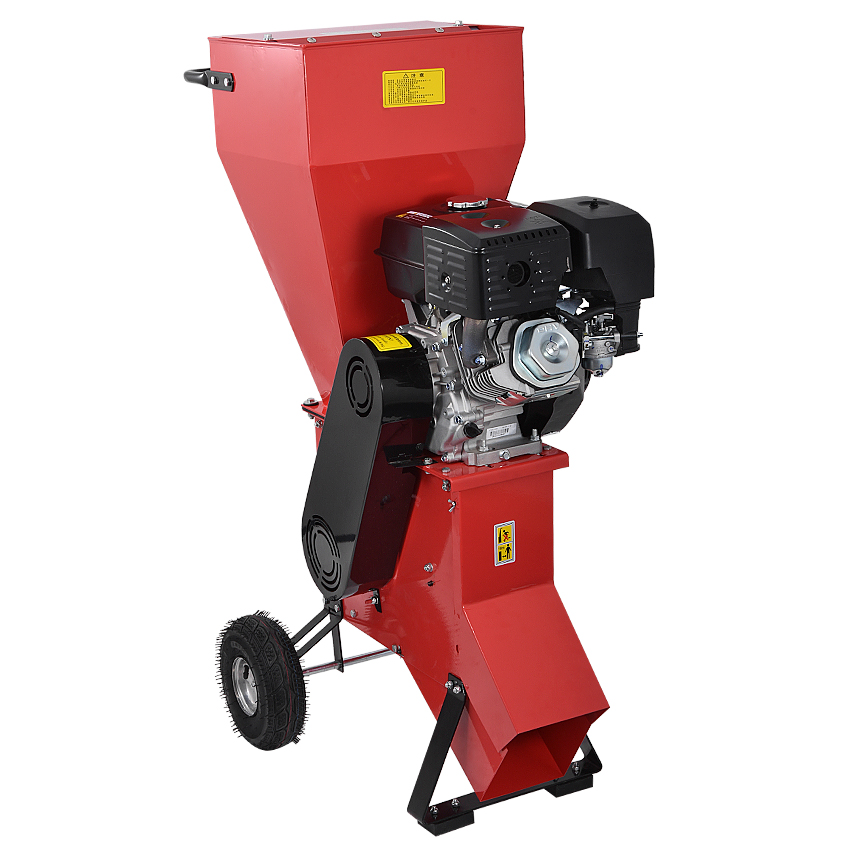Tools : New Arrival 13 Horsepower Tree Branch Crusher Grinder Garden Wood Shredders With Gasoline Engine 2400rpm 389CC 6L 13HP 3600rpm