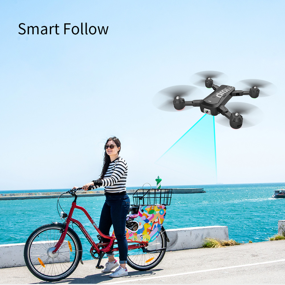 1080P 4K Flying Toys Dual Cameras Optical Flow Folding Drone Wifi Transmission HD Adjustable Angle Visual Positioning Quadcopter