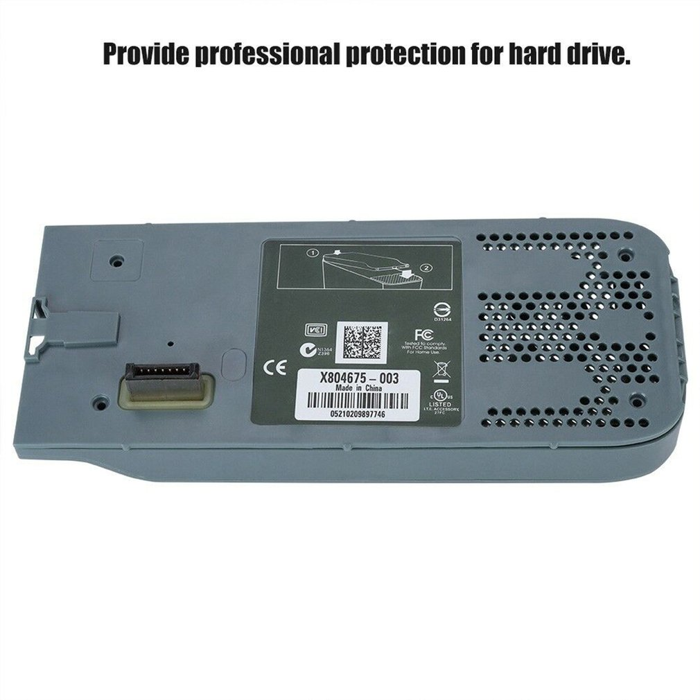 Hard Disk Drive HDD Enclosure Case Shell For Xbox 360 2.5