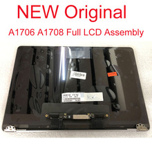 """Genuine New Full LCD Assembly For Macbook Pro Retina 13"""" A1706 lcd display screen A1708 lcd screen complete back cover + camera"""