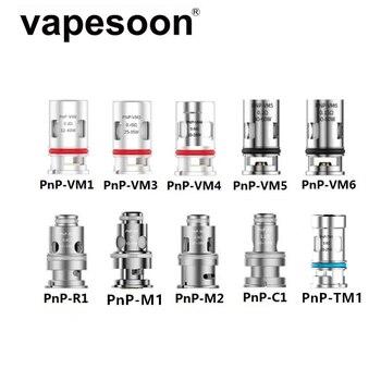 5pcs PnP Coil PnP-VM1 VM5 VM6 Replacement Coil Head for VOOPOO VINCI / VINCI R / VINCI X DRAG X S Pod Argus GT Mod Vape Kit пальто lea vinci lea vinci mp002xw1hnw9