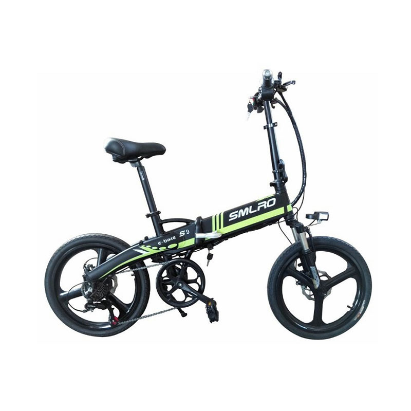 s9 ON SALE September Big sale City Bike Aluminum alloy 6061 Foldable Frame 20 inch electric bicycle 3
