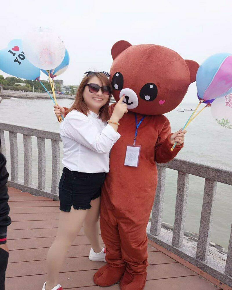 Offre spéciale Costume ours brun mascotte de bande dessinée Cosplay carnaval fête d'anniversaire tenue animale Halloween fête de noël vêtements de plein air