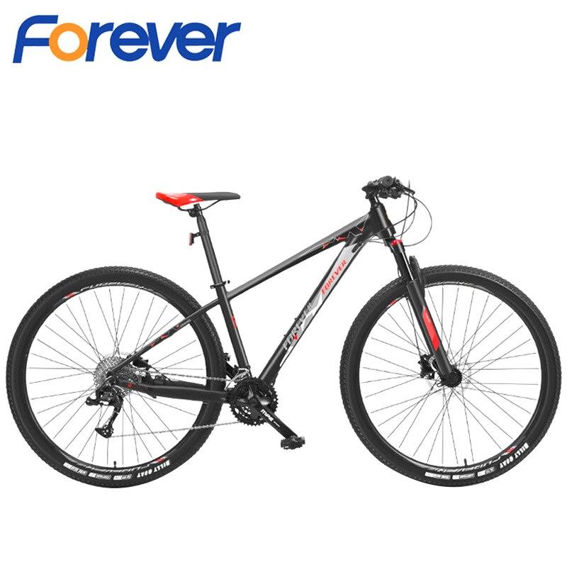 FOREVER-bicicleta de montaña para adultos, bici de carreras al aire libre de 29 pulgadas, 33 Velocidad Variable de velocidad, para hombre y mujer