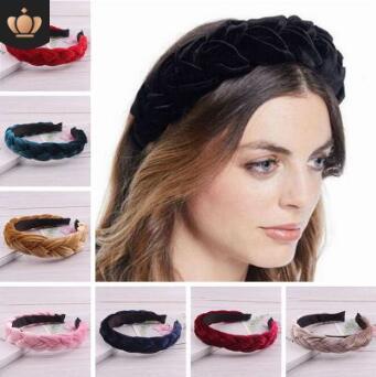 Lote Faça Você Mesmo Multi Pleuche Pigtail Headbands Ampliar Colore Puro Cânhamo Flores Banda Cabeça Styling Ferramentas Acessórios Ha706 30 Pçs –