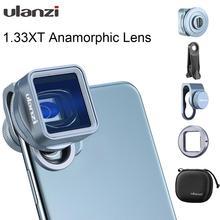 Ulanzi 1,33 XT Anamorph Objektiv Widescreen Film Videomaker Filmemacher mit 52mm Filter Adapter für iOS iPhone 12 Pro Max android