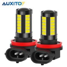 AUXITO 2x Canbus 9006 HB4 LED sis lambası H10 9145 H8 H11 Led Lens Toyota Camry Corolla Prius Land cruiser hiçbir hata DC12V