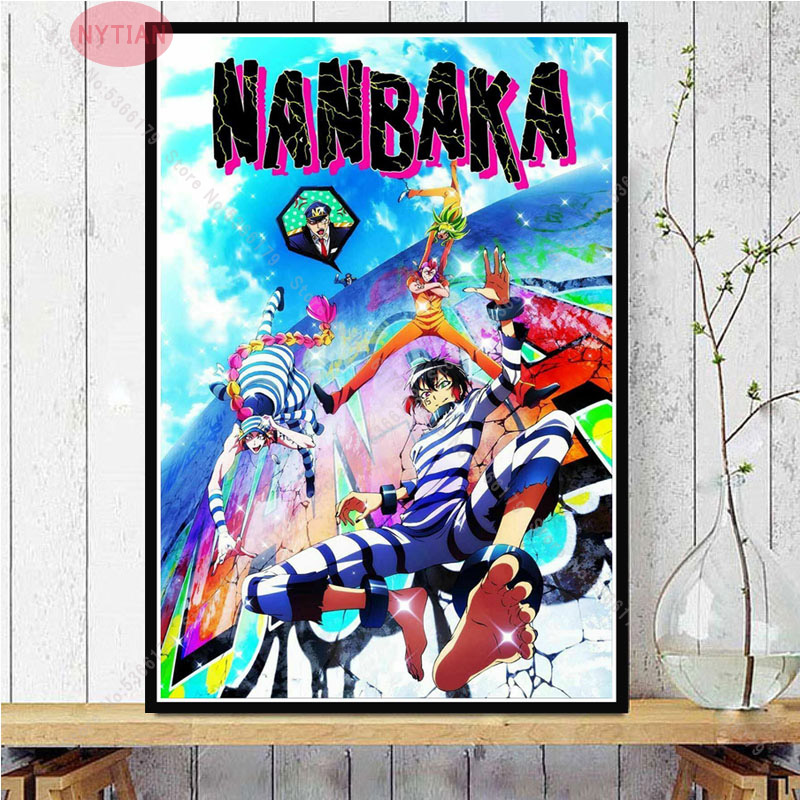 Nanbaka Detentionhouse Jyugo Wallscroll Poster Kunstdrucke Bider Drucke