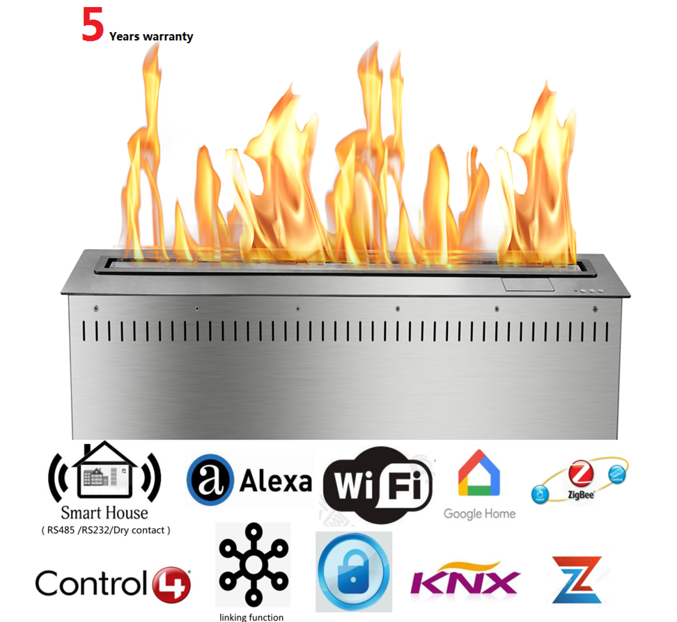 36 Inch Intelligent Home Decoration  Electric Chimeneas Bioetanol Fireplace