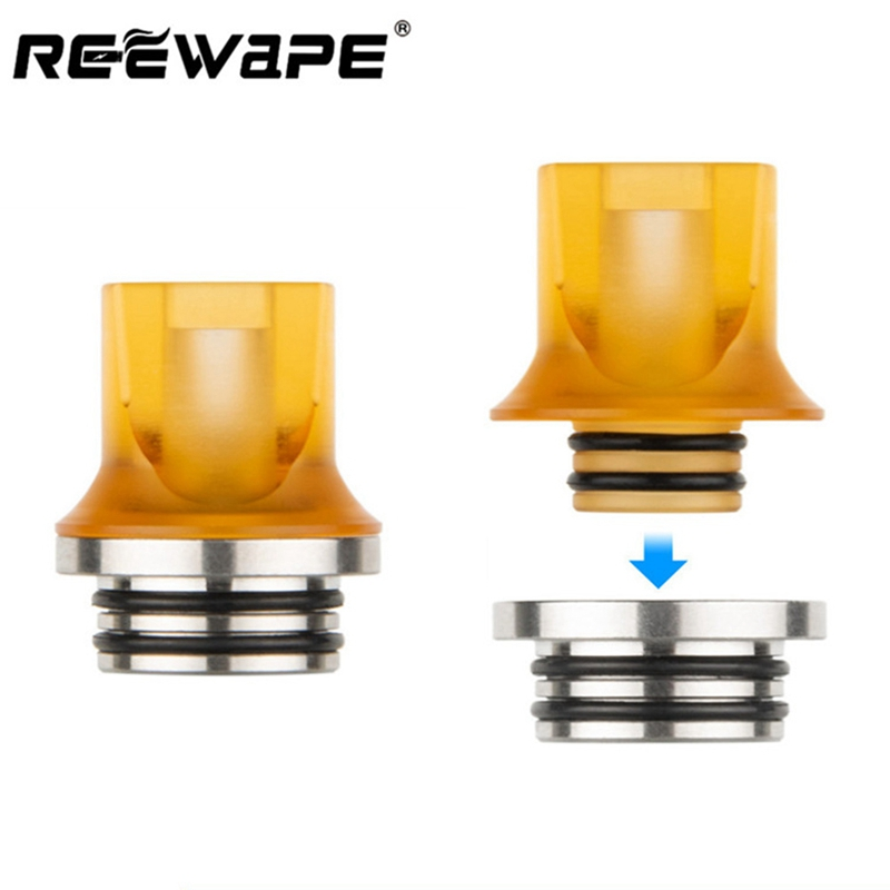 1pc 810 To 510 Drip Tip Adapter Heat Sink For V8 V8 Big Baby Tank Atomizer E Cigarette Drip Tip Connector