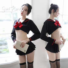 Student sailor uniform sexy clothing temptation female sense Halloween costume role playing female student sexy costume skirt
