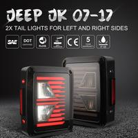 Car LED Brake Taillights Assembly US Plug Styling Reverse Tail Lamp For JEEP Wrangler JK 07 17 Car Accessories