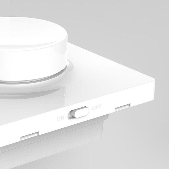 HOT Original Mijia Yeelight Smart Dimmer Switch Intelligent adjustment Off light still work 5 in 1 control Smart switch