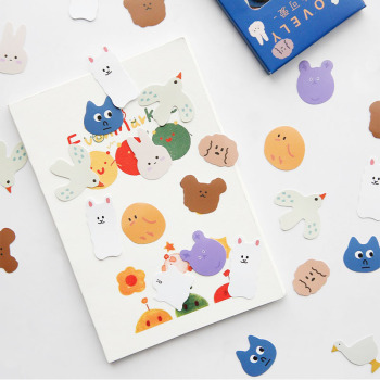 Cute Geometry Series Washi Paper Stickers Pack DIY Planner Album Scrapbooking Hand Account Decorative Stationery Note Stickers mr paper 45pcs bag garden series washi deco diary stickers scrapbooking pad planner decorative stationery stickers accessories